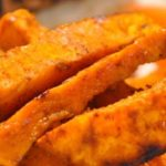How To Make Spicy Baked Sweet Potato Fries Recipe