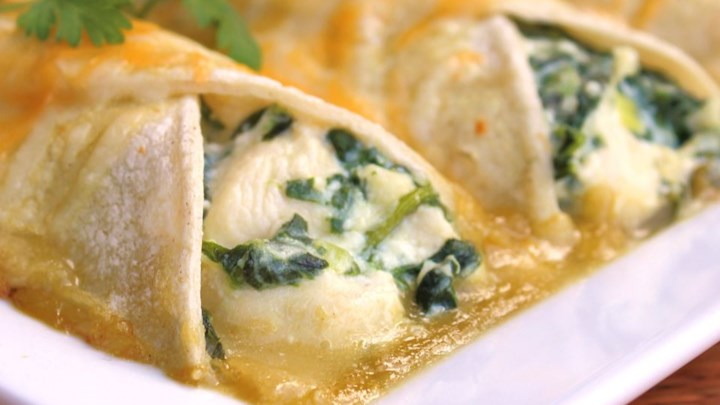 Spinach Enchiladas Recipe