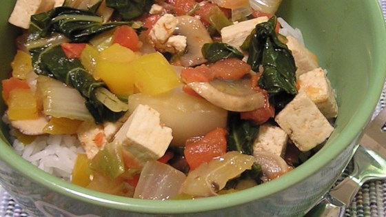 Make Coconut Curry Tofu