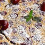 Brandied Cherry Clafouti Recipe