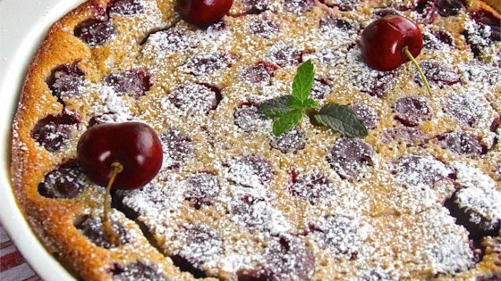 Brandied Cherry Clafouti Recipe