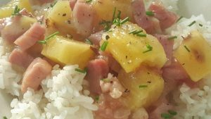 Make Ham and Pineapple Dinner Recipe