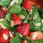 How To Make Strawberry Spinach Salad Recipe