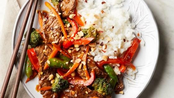 Asian Steak and Vegetable Stir-fry
