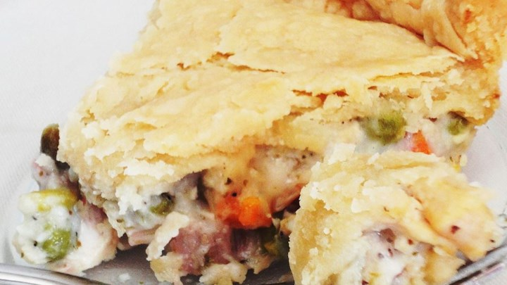 Dad's Leftover Turkey Pot Pie Recipe