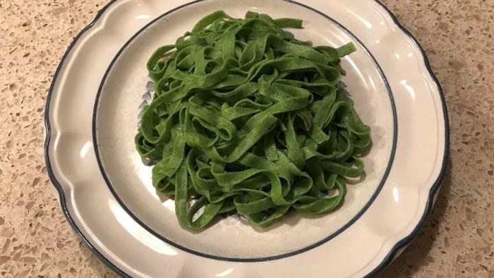 Fresh Spinach Pasta Recipe