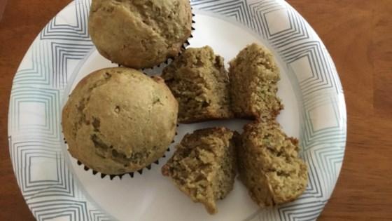 Avocado-Banana-Walnut Muffins Recipe