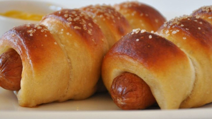 Jan's Pretzel Dogs Recipe