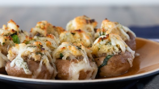 How To Make Perfect Crab-Stuffed Mushrooms