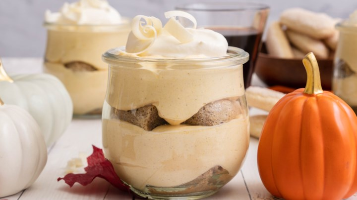 Pumpkin-Coffee Tiramisu