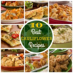 10 Best Cauliflower Recipes