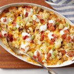 How to Make loaded cauliflower casserole recipe