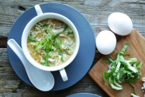 How to make egg drop soup with ramen
